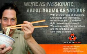 Revolver-Drums-Chopsticks